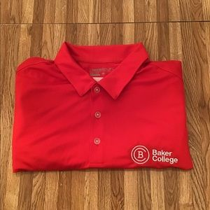 NWT Men's Nike Dri-Fit Baker College Polo Shirt